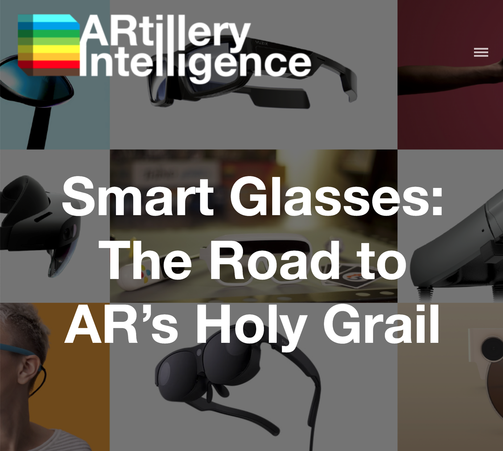 Where are AR glasses in their lifecycle? When will they reach ubiquity?